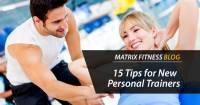 Tips for new personal trainers