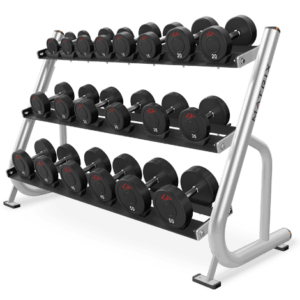 Matrix 3 tier studio dumbbell rack
