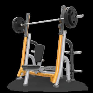 Matrix breaker olympic shoulder bench